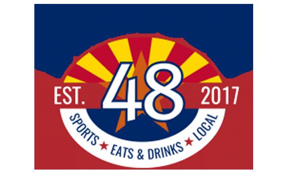 famous 48 logo est 2017